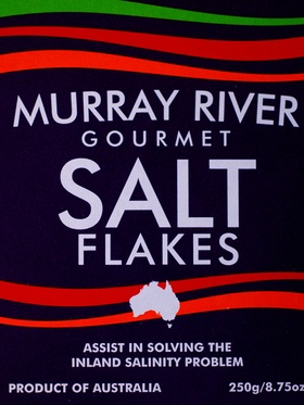 Murray River Salt Flakes